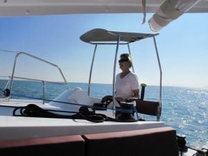 Nautitech Open 40 Boat Handling