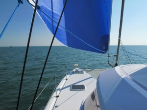 Sailing the Nautitech Open 40