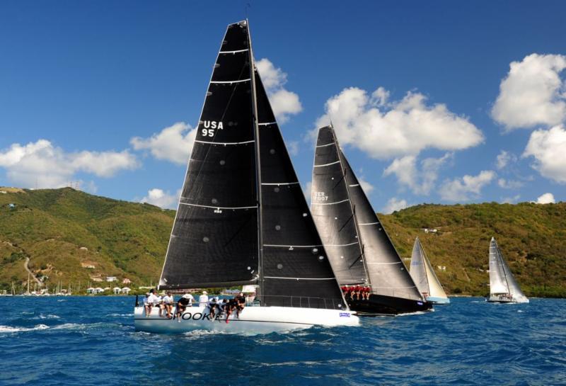 Holmberg wins Round Tortola