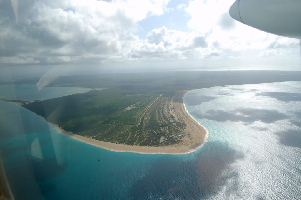 Arriving at Barbuda from Antigua