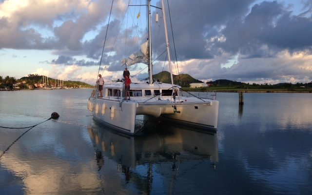 Lagoon 450 in Antigua