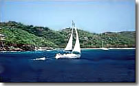 one week St Vincent sailing itinerary