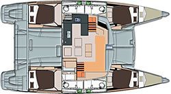 Helia 44 4 Cabins 4 Heads Layout