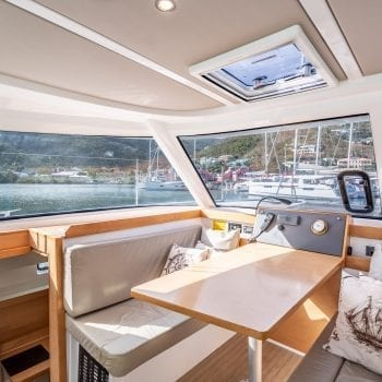 Nautitech Open 40 Catamaran Interior