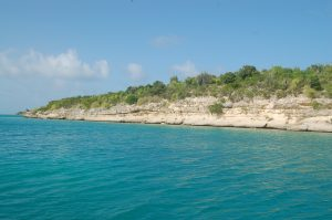 Antigua's beautiful North Sound - a haven for Horizon's sailors.
