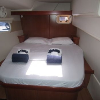 Leopard 46 Catamaran Interior