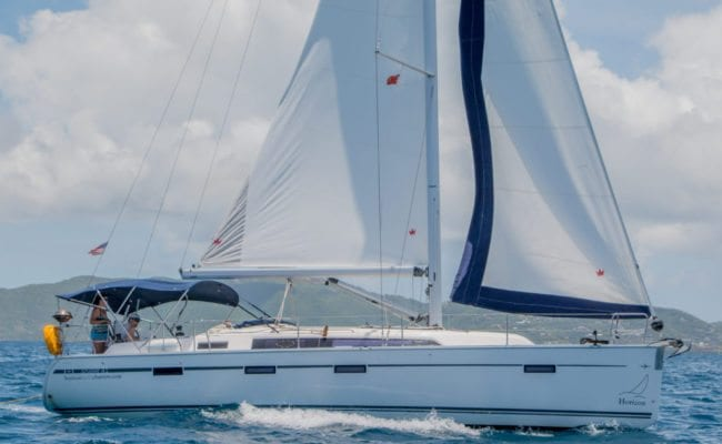 Bareboat Fleet and Rates for Horizon Yacht Charters