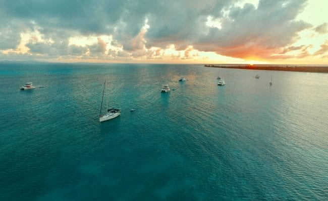 Sunset from Setting Point, Anegada
