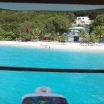 JVD New floating ocean bar BVI Water Sports