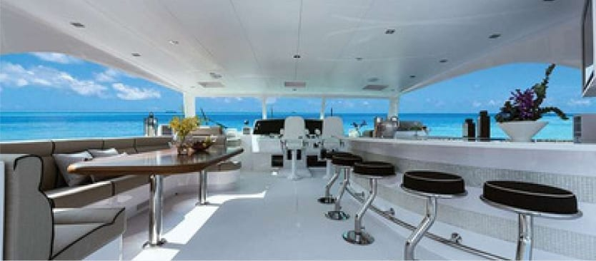 Luxury All-Inclusive Yacht Charters - Yacht Interior
