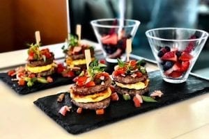 Luxury crewed food