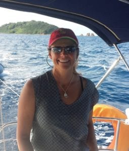 Skippers and instructors Captain Donna Acquaro