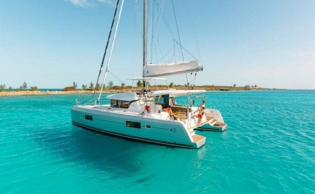Lagoon 42 Charter Discount For January 2020