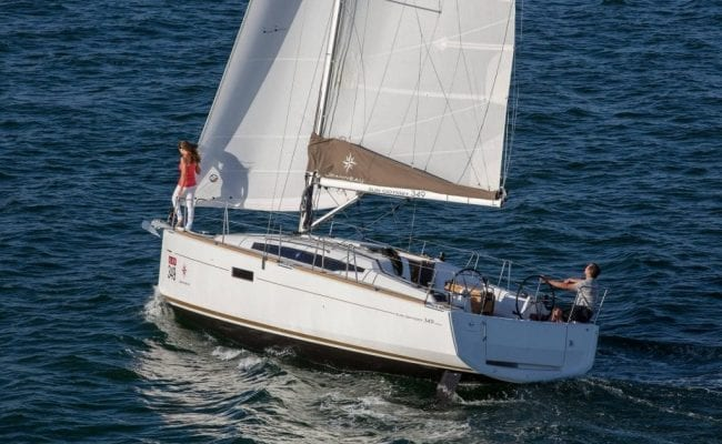 Sun Odyssey 349 January Discount