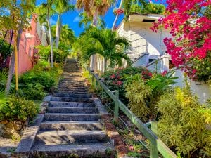 Famous 99 Steps in Charlotte Amalie